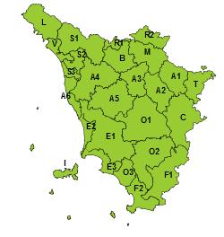 Toscana Rischio Ghiaccio 12 Febbraio 2021